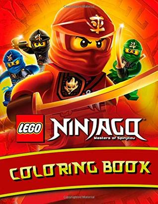 LEGO NINJAGO Masters of Spinjitzu COLORING BOOK: for kids ages 3-8