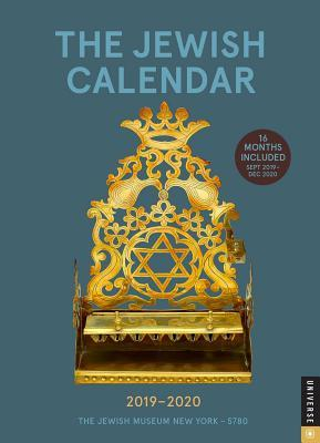 Year Calendar 2020-16 The Jewish Calendar 2019 2020 16 Month Engagement: Jewish