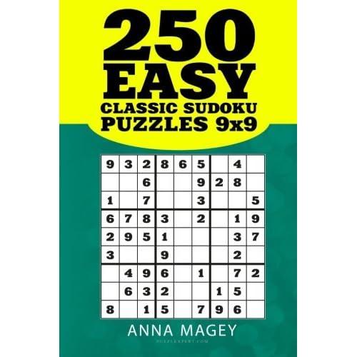 250 Easy Classic Sudoku Puzzles 9x9: 250 Mind-stimulating