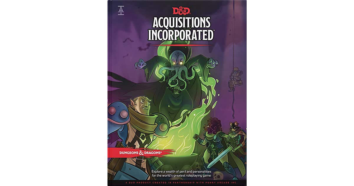 Acquisitions Incorporated by Wizards RPG Team