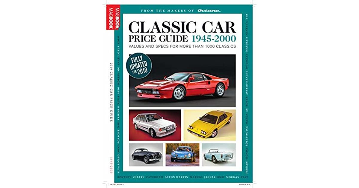 Classic Car Price Guide 2019 by Octane Magazine