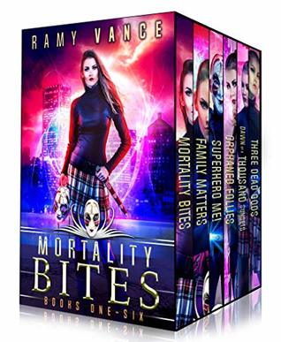 Mortality Bites - Boxed Set (Books 1 - 6): An Urban Fantasy Epic Adventure