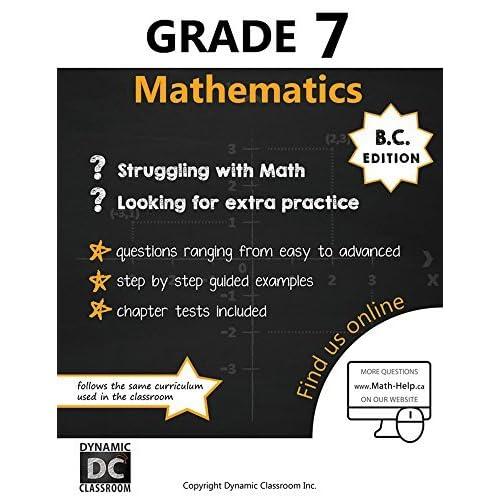Dynamic Math Workbook - Complete Grade 7 Mathematics Curriculum by