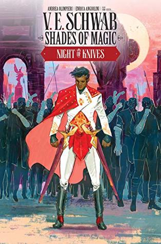 Night of Knives #3 (Shades of Magic Graphic Novels #7)
