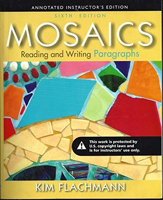 mosaics reading and writing paragraphs 7th edition answer key