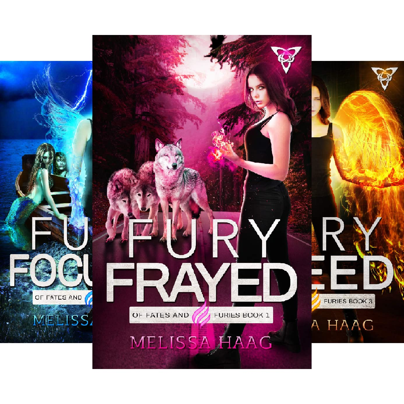 Of Fates And Furies 3 Book Series By Melissa Haag