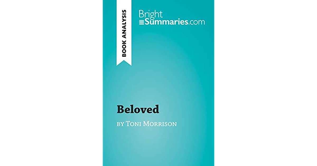 which literary device is used in these lines from beloved by toni morrison