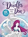Doodles from The Den: Designed and illustrated by Kim White of the Fox Design Den