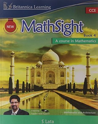 New MathSight (CCE Edition) Class - 4 by S  Lata