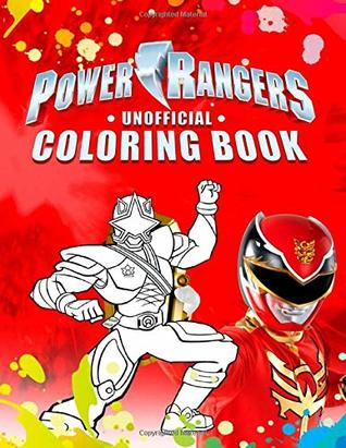 Power Rangers Coloring Book: Great Coloring Book For Kids by ...
