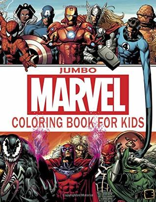 Marvel Coloring Book: Avengers Endgame Coloring Book | Jumbo ...