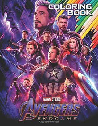 MARVEL AVENGERS End Game Coloring Book: All Heroes by Maison ...