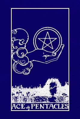 Ace of Pentacles: Tarot Card Journal, 6 X 9 Inch Matte