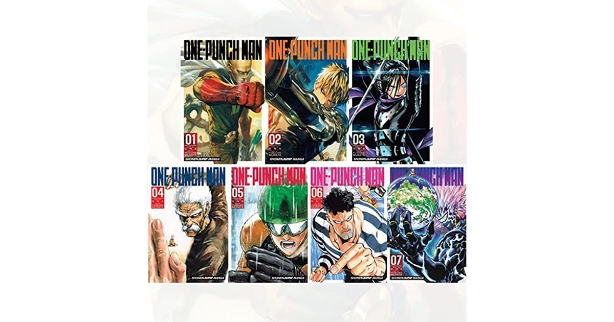 One-Punch Man Collection Vol 6-15 :10 Books Bundle by Yusuke