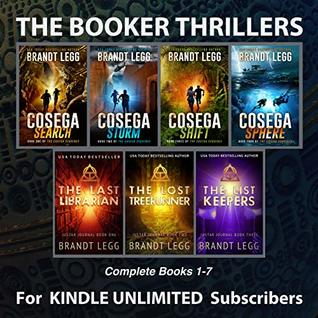 The Booker Thrillers Books 1-7: for Kindle Unlimited Subscribers by