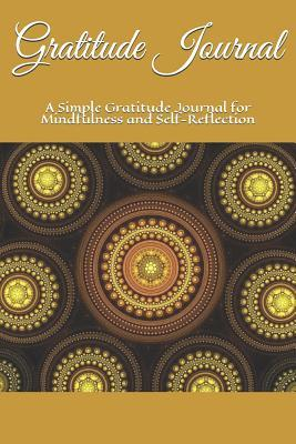 Gratitude Journal: Personalised Simple Gratitude Journal for Mindfulness and Self-Reflection