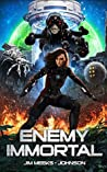 Enemy Immortal: A Hard Science Fiction Space Opera (Entangled Galaxy Book 1)