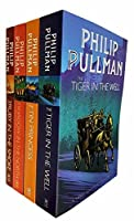 Sally Lockhart Mysteries Collection Philip Pullman 4 Books Set (The Ruby in the Smoke, The Shadow in the North, The Tiger in the Well, The Tin Princess)
