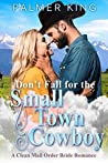 Don't Fall for the Small Town Cowboy: A Clean Mail Order Bride Romance (Take My Advice Book 2)