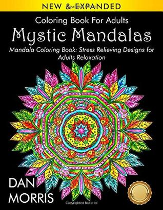 Coloring Book For Adults Mystic Mandalas Mandala Coloring Book