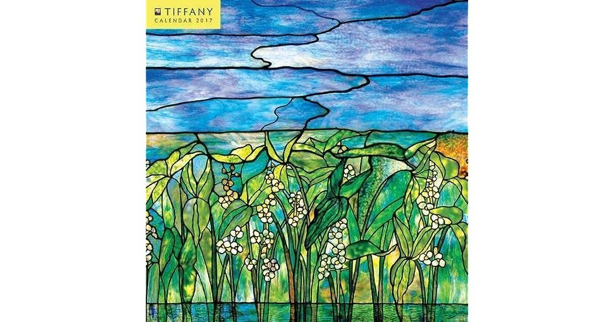 e4641d5966 Tiffany mini wall calendar 2017 by Flame Tree Publishing