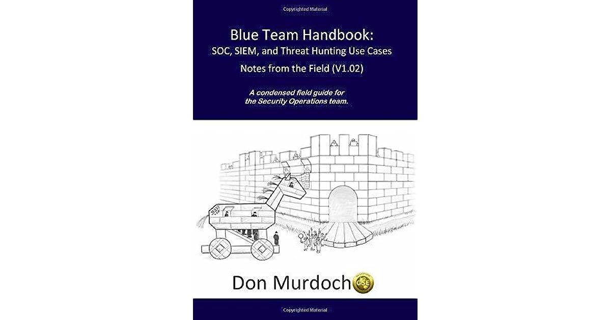 Blue Team Handbook: SOC, SIEM, and Threat Hunting (V1 02): A