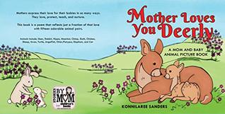 Mother Loves You Deerly: A Mom and Baby Animal Picture Book
