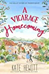 A Vicarage Homecoming (The Holley Sisters of Thornthwaite Book 4)