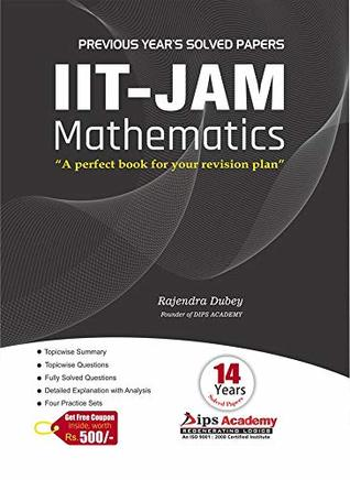 IIT JAM Mathematics Solution Book - 14 Years Solved Papers