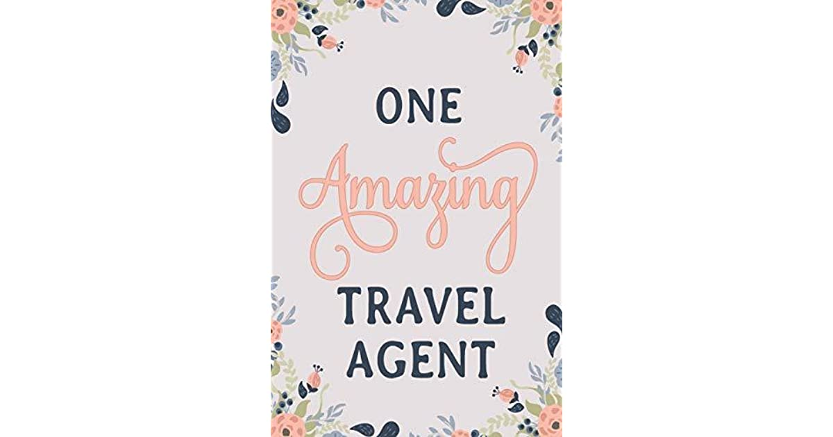 One Amazing Travel Agent: Travel Agent Notebook | Travel