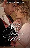 Daring To Love The Duke's Heir (The Beauchamp Heirs, #2)