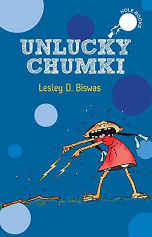 Cover art of Unlucky Chumki by Lesley Biswas