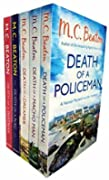 Hamish Macbeth Murder Mystery Death Series 1: 5 books Collection set