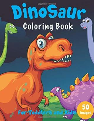 Dinosaur Coloring Book: For Toddlers and Kids by Happy Kid Press