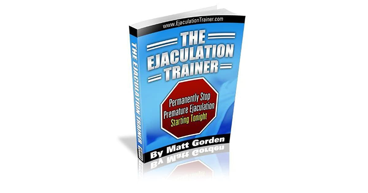 the ejaculation trainer by matt gorden