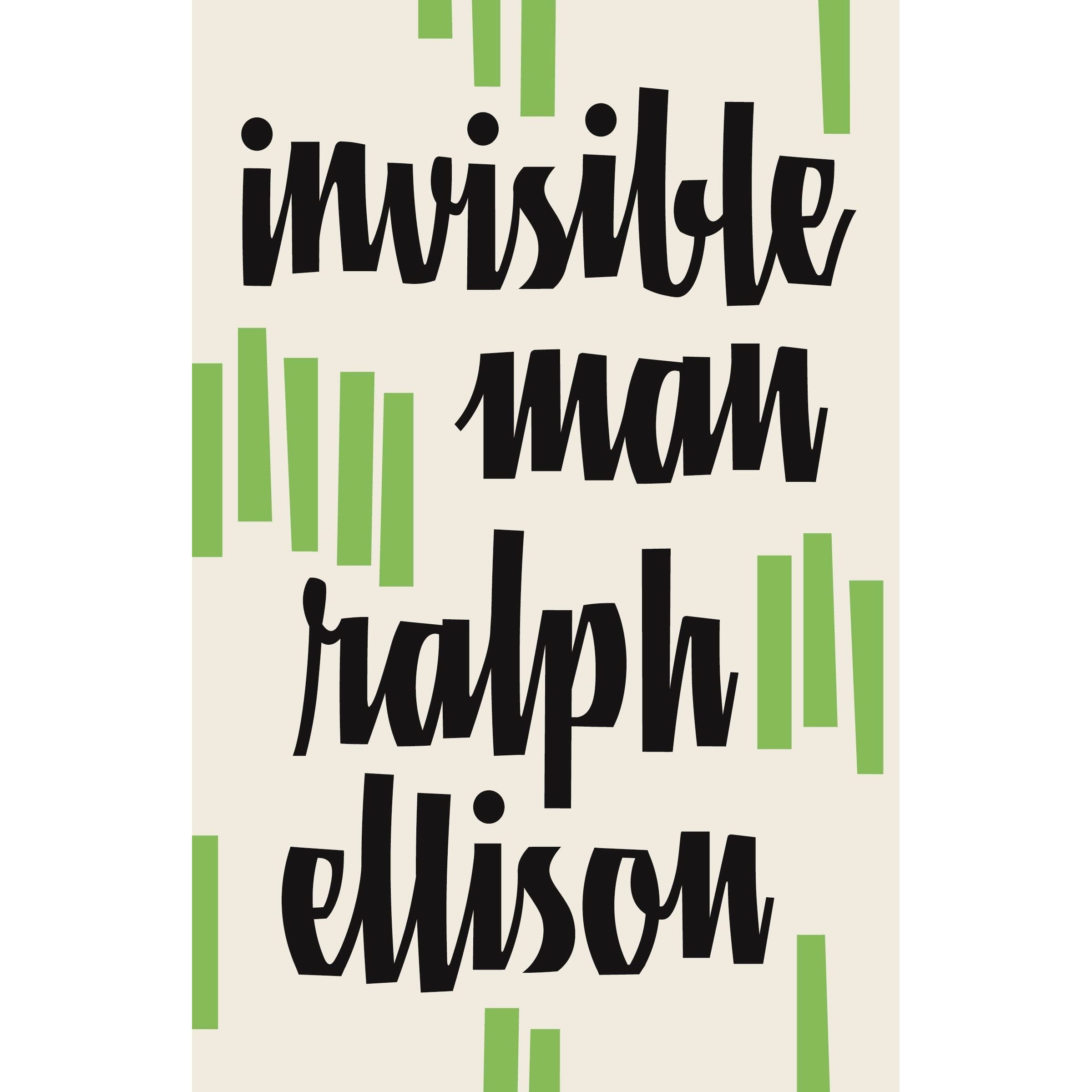 man google ralph ellison invisible audio book