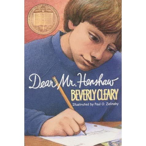 Dear Mr Henshaw Leigh Botts 1 By Beverly Cleary