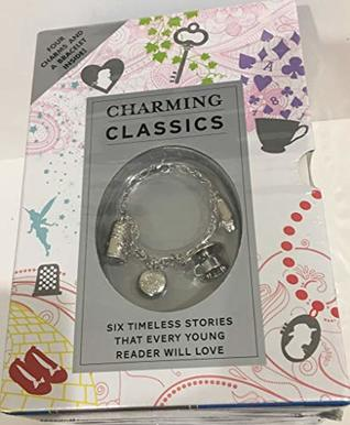 Charming Classics 6 Books Collection: Alice In Wonderland, The Wizard of Oz, A Little Princess, The Secret Garden, & Anne of Green Gables, (Includes one Bracelet with four Charms)