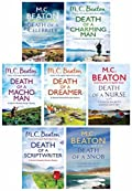 M.C. Beaton Hamish Macbeth Murder Mystery Series Four Collection 7 Books Set