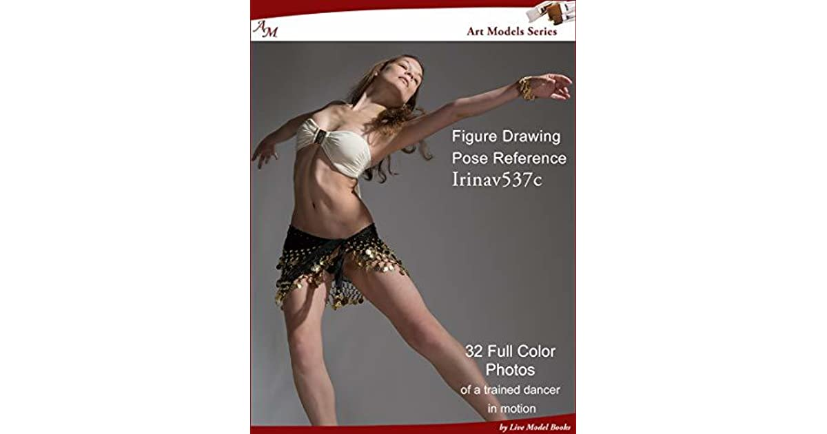 Art Models IrinaV537c: Figure Drawing Pose Reference by Douglas Johnson