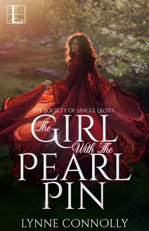 The Girl with the Pearl Pin (The Society for Single Ladies #1) - Lynne Connolly