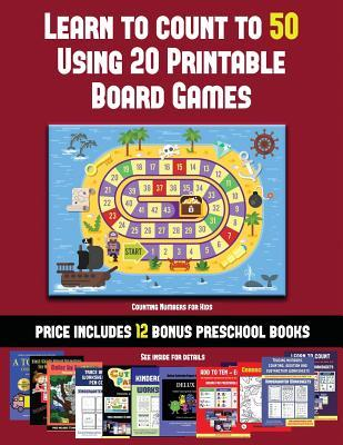 picture about Printable Board Games for Kids named Counting Figures for Small children (Discover towards Depend towards 50 Utilizing 20