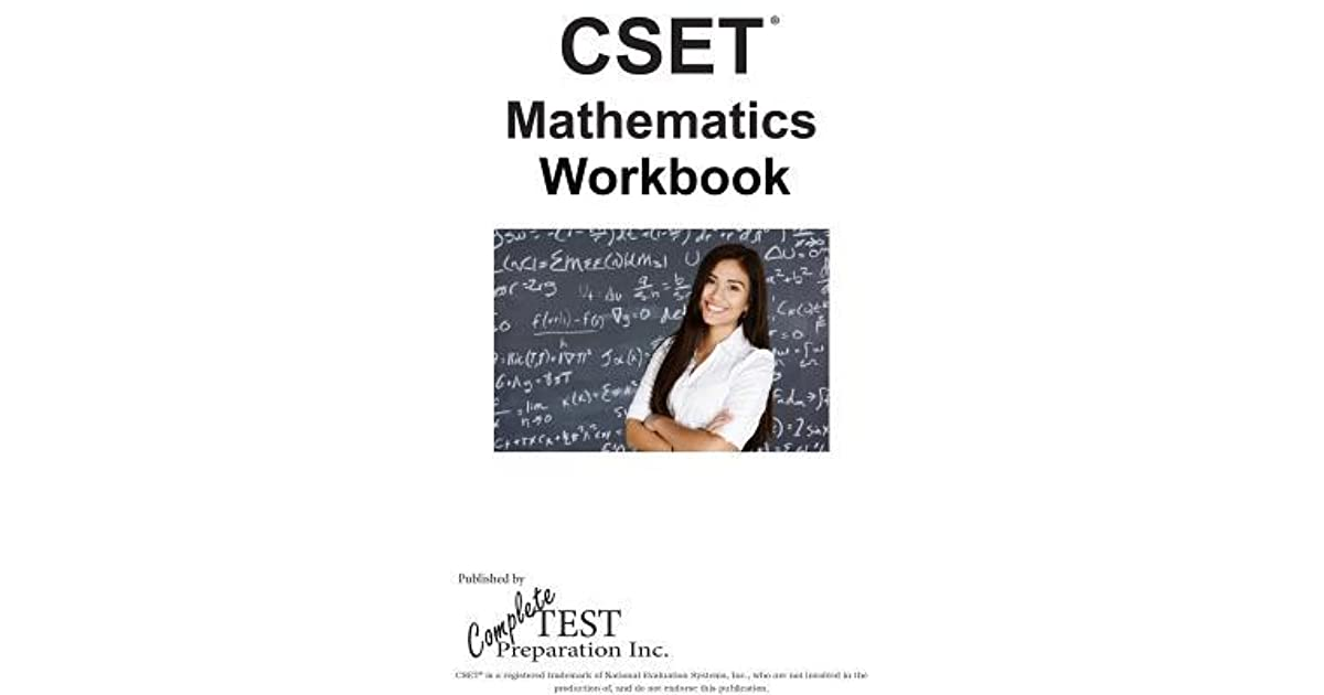 Cset Math Ctc Workbook: Practice Test Questions for Cset(r