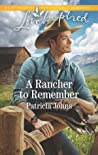 A Rancher to Remember (Montana Twins #3)