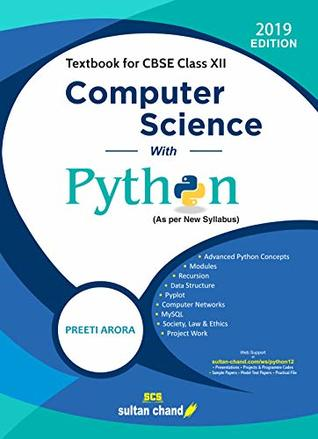 Computer Science with Python: Textbook for CBSE Class 12