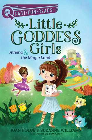 Athena & the Magic Land by Joan Holub