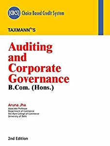 Auditing and Corporate Governance (CBCS) (B.Com.-Hons.)(2nd Edition January 2019)