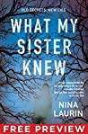 Free Preview - What My Sister Knew