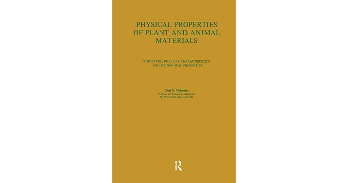 Physical Properties of Plant and Animal Materials: V  1: Physical