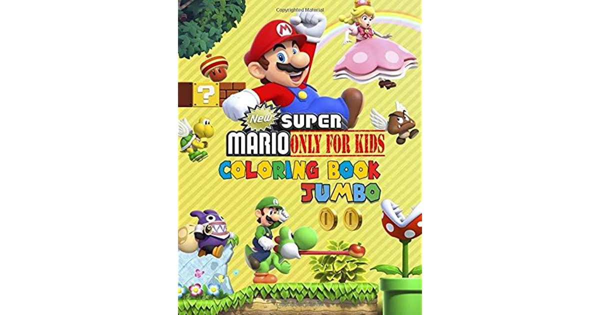 - Books Painting Ages 3-8 Great Coloring Book For Kids Super Mario Coloring  Book